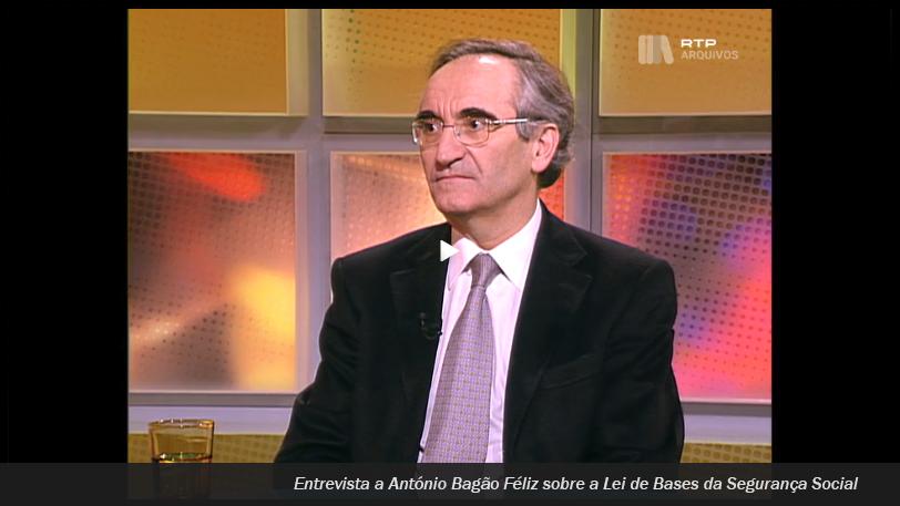 Entrevista a Bagão Félix